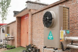 北京煤改电采暖项目-超低温空气源热泵采暖案例