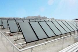 平板太阳能热水器工作原理、安装与保养